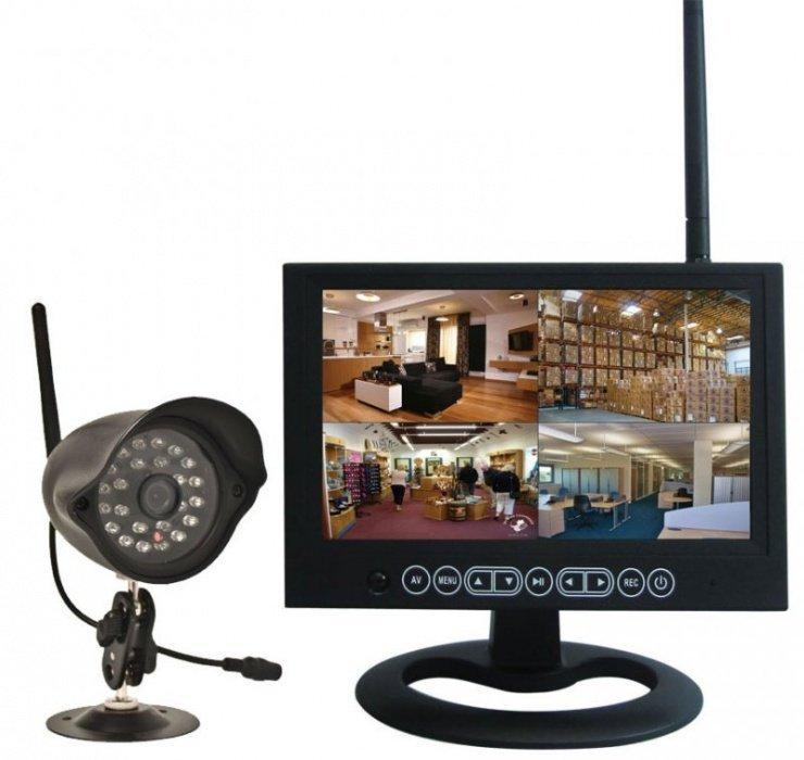 Bezdrátový kamerový set EXCLUSIVE-RV
