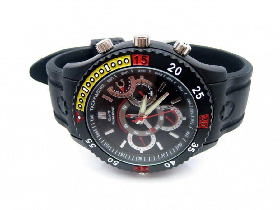 Sportovní hodinky s kamerou a detekcí pohybu