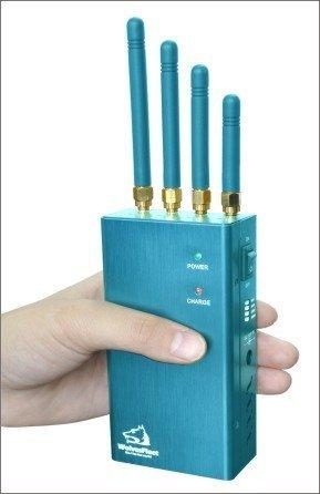 Přenosná rušička signálu - kompletní GPS, 2W