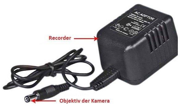 Skrytá kamera v kabelu EXCLUSIVE