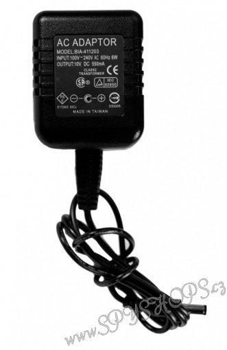 Skrytá kamera v síťovém adaptéru EXCLUSIVE (objektiv uvnitř adaptéru)