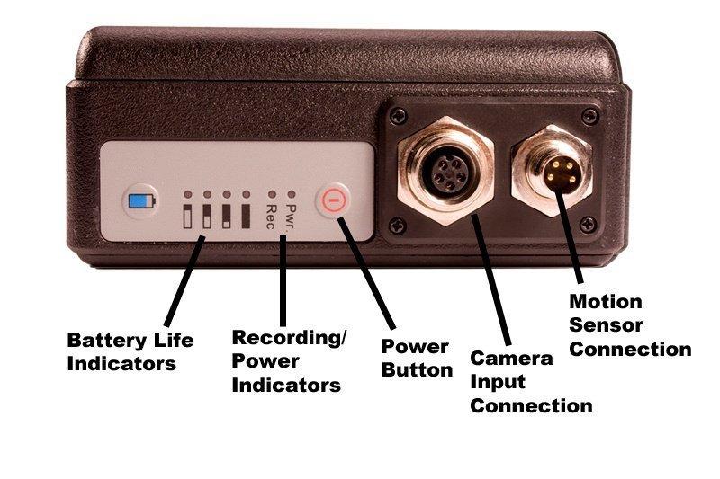 DVR s extrémní výdrží + minikamera