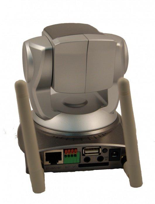 Bezdrátová PTZ IP kamera s 10x optickým zoomem