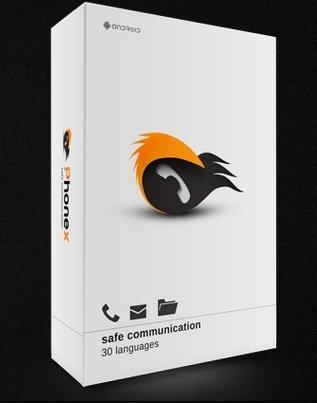 Phone-X šifrování hovorů a SMS