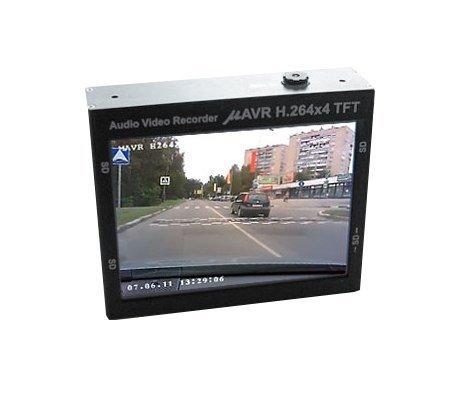 Profesionální DVR mAVR H.264x4 TFT