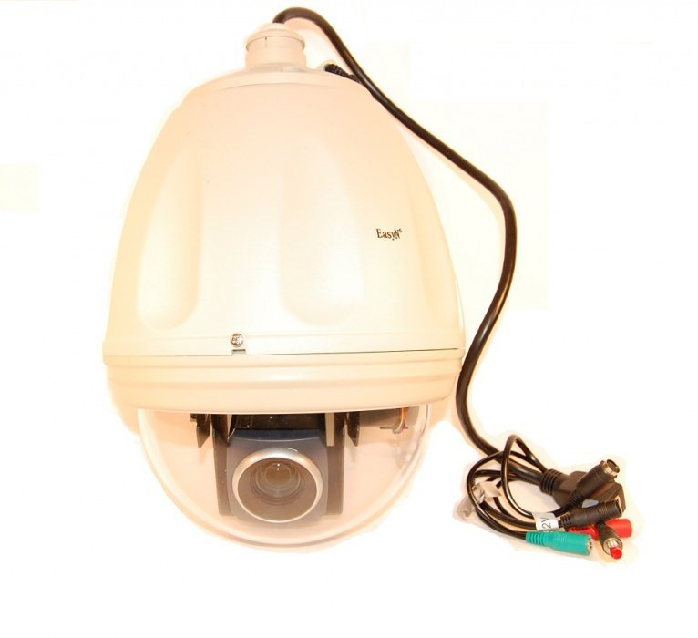 Bezdrátová speed dome kamera s 27x zoomem