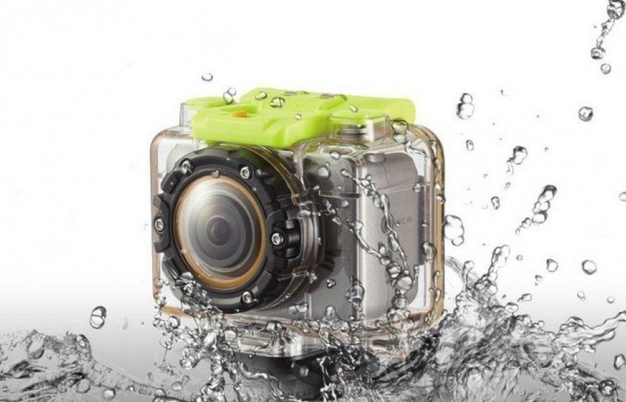 FULL HD akční kamera s WiFi a dálkovým ovládáním v náramku