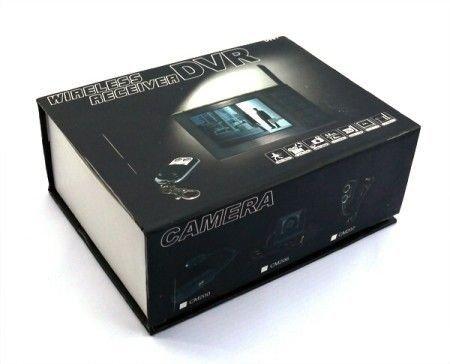 Multifunkční DVR s 8CH 5,8GHz přijímačem