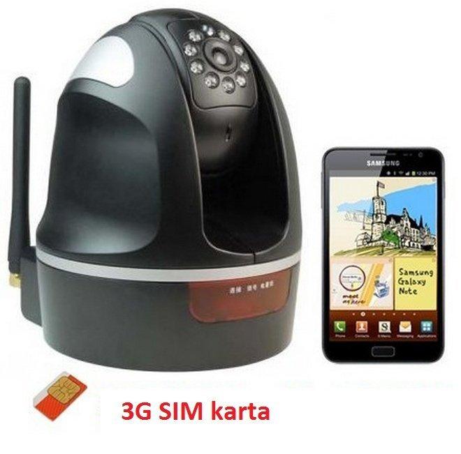 Otočná 3G kamera s IR přisvícením