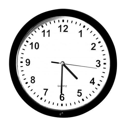 Nástěnné hodiny s kamerou a extrémní výdrží