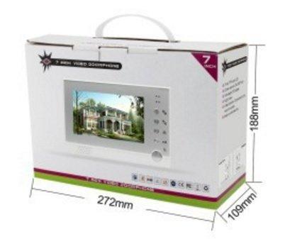 Domovní videozvonek s kamerou a monitorem VDP323-1
