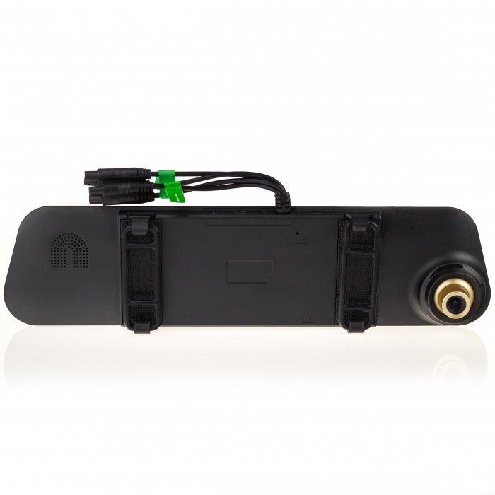 4-kamerový systém do auta s DVR a kamerou v zrcátku