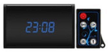 Digitální hodiny se skrytou Full HD kamerou