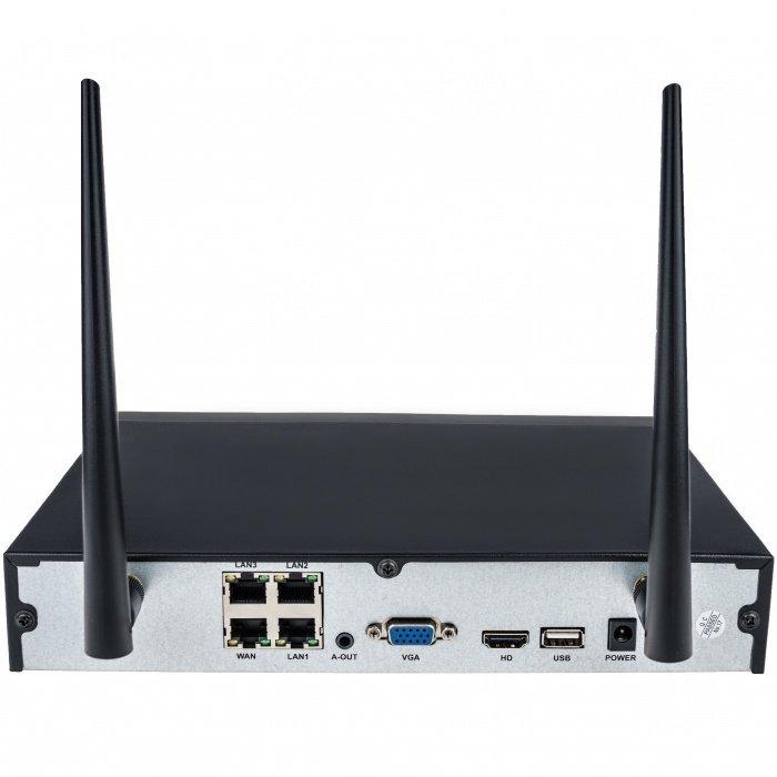 BAZAR - WiFi kamerový systém Secutek WIFI2004PG1S100 - 4x1.3Mpix kamera, NVR