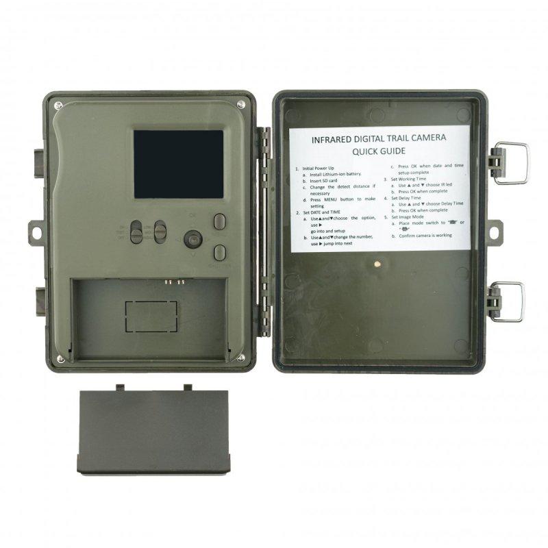 Full HD fotopast Secutek SST-002AA - 12MP, IP54