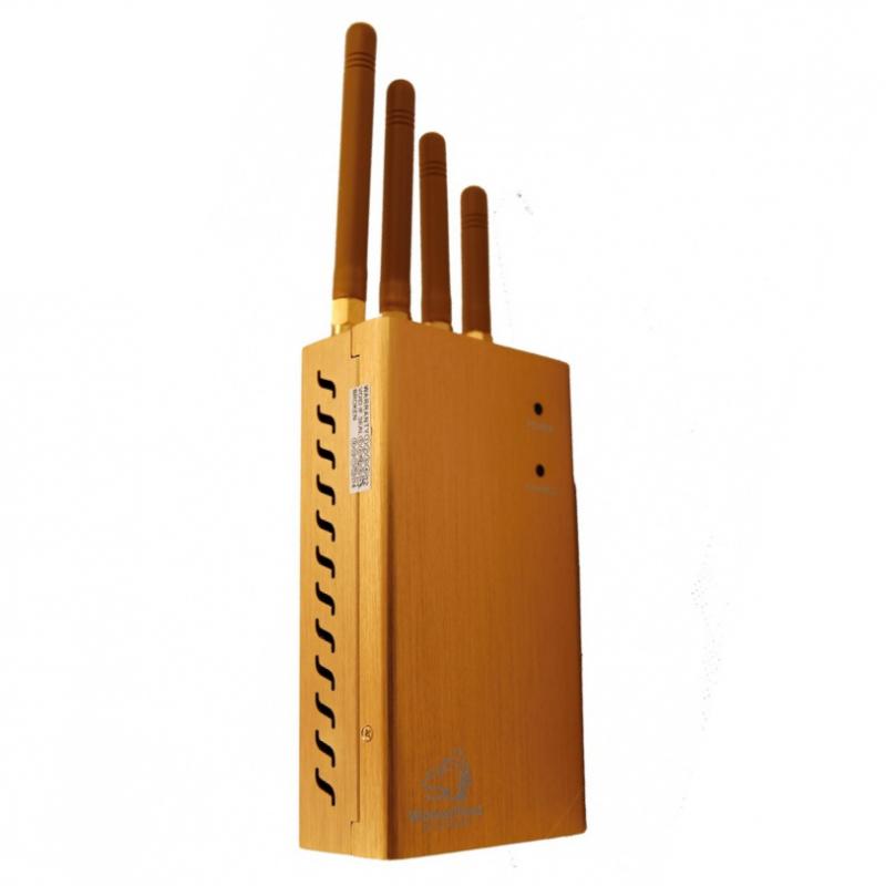 Přenosná rušička signálu - GPS/GSM/3G, 2W