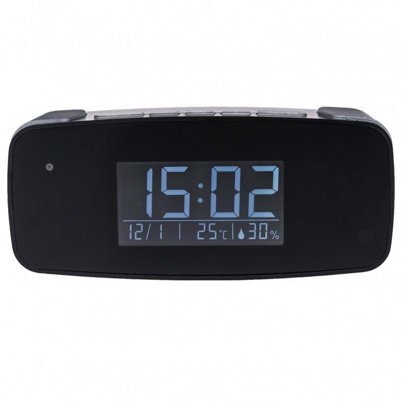 Malé digitálne hodiny IP006 so skrytou WiFi kamerou