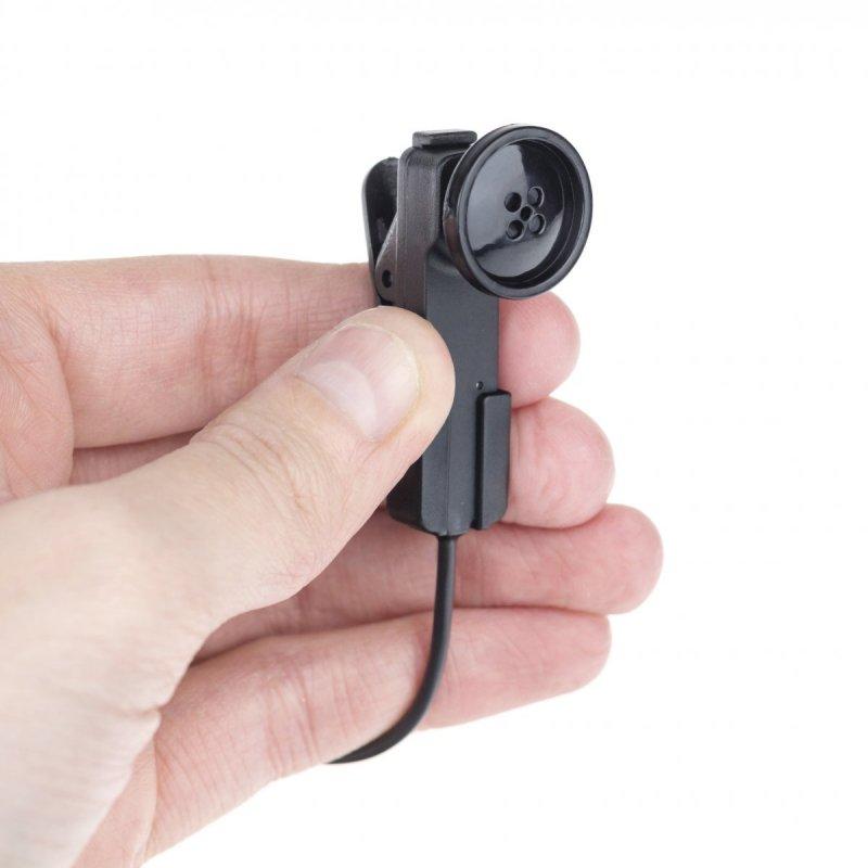 Minikamera v gombíku Misumi MT-N4131 pre živé streamovanie