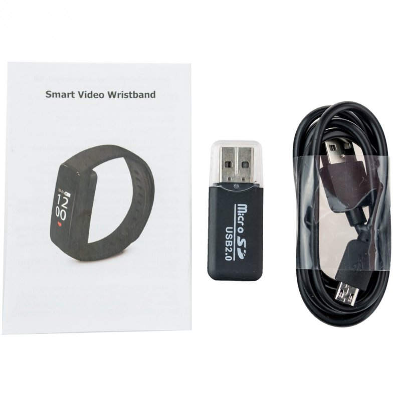 Sportovní hodinky HD-K10 s audio a video záznamem