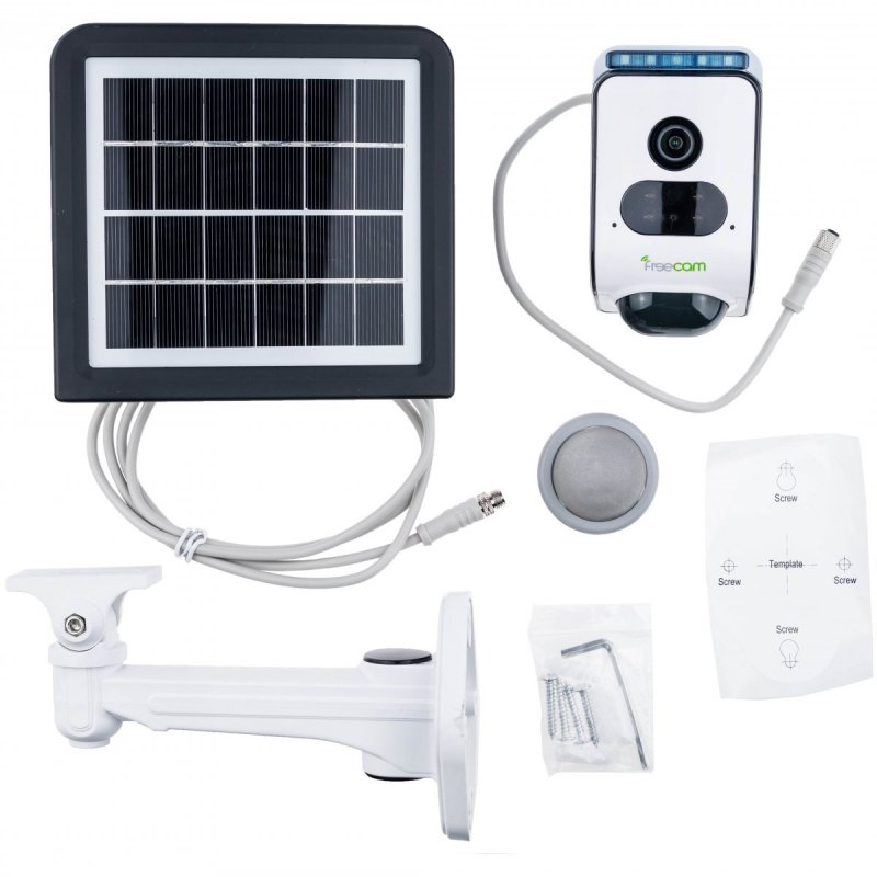 100% Kamera solarna z alarmem Secutek SLL-C390S
