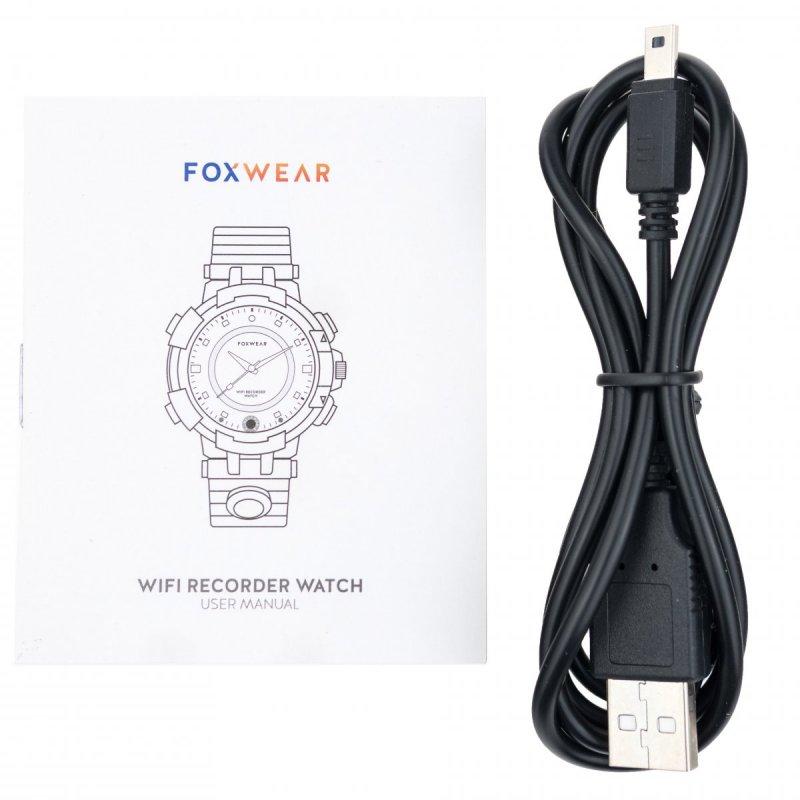 Špionážní hodinky WI-Y31 s kamerou a nočním viděním
