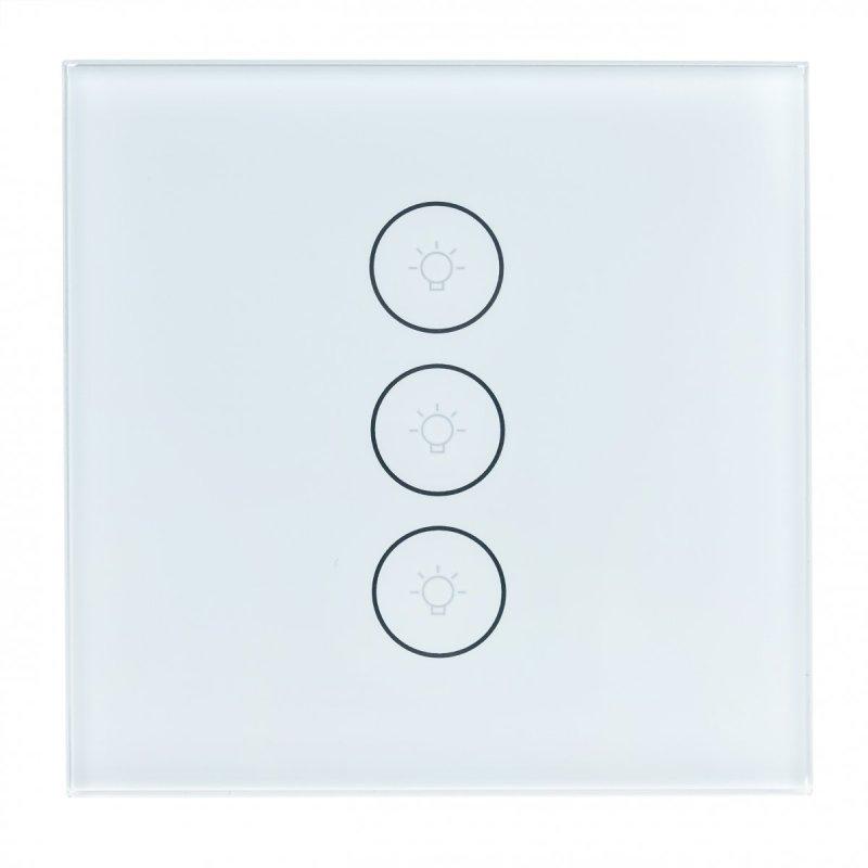 Dálkový WiFi vypínač světla/záclon Secutek SRT-SP003