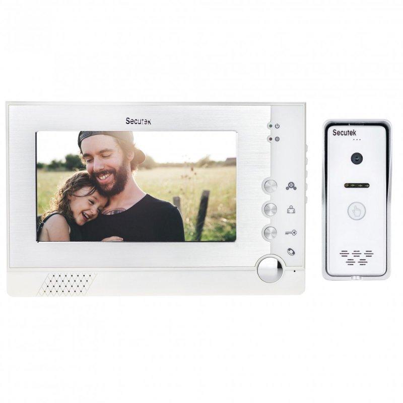 Videozvonek Secutek VDP313+CAM-203