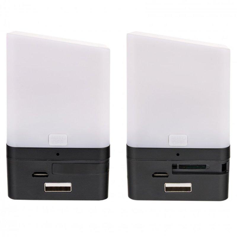 Lampička se skrytou Full HD Wi-Fi kamerou Secutek SAH-IP028