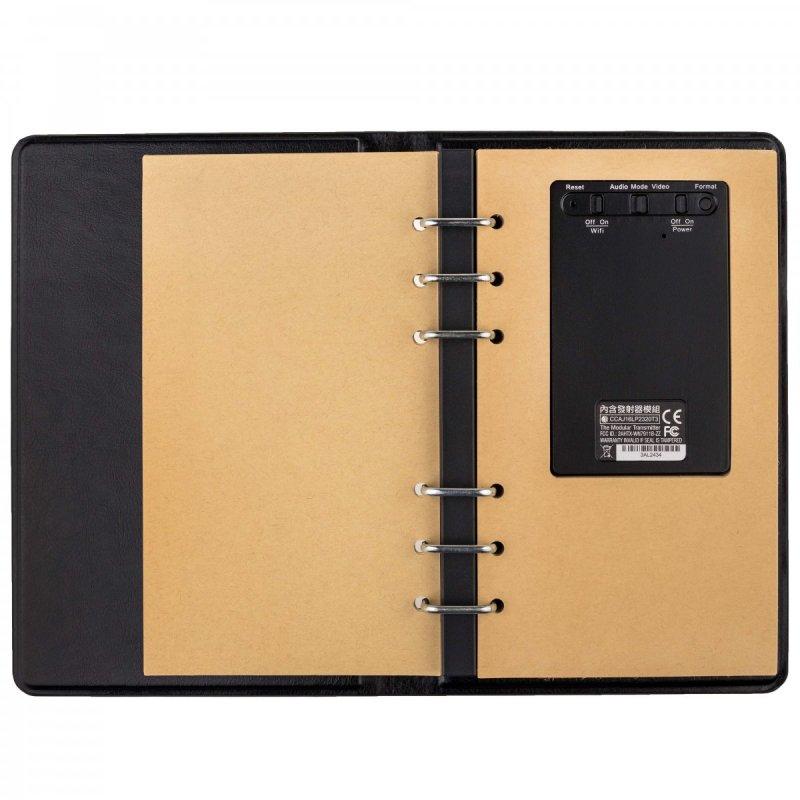 Zápisník so skrytou Full HD WiFi kamerou Lawmate PV-NB10W