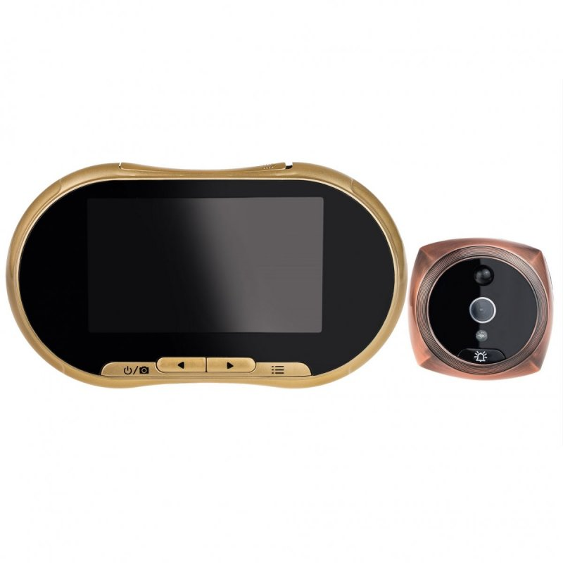 """Digitální dveřní kukátko DK24 - 4,3"""" LCD, IR, PIR"""