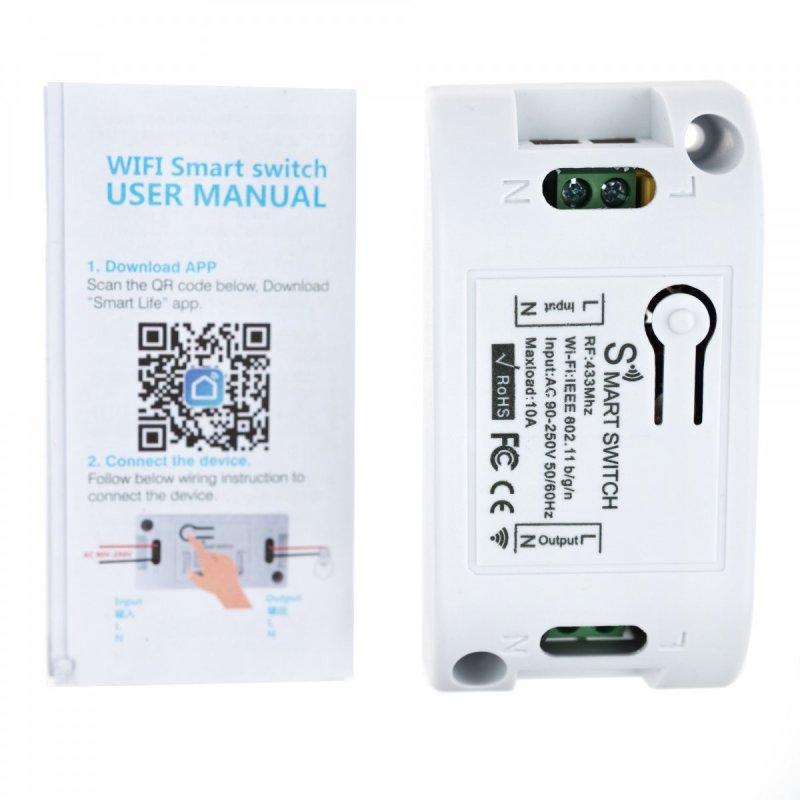 Интелигентен превключвател Secutek Smart WiFi SRT-SB002