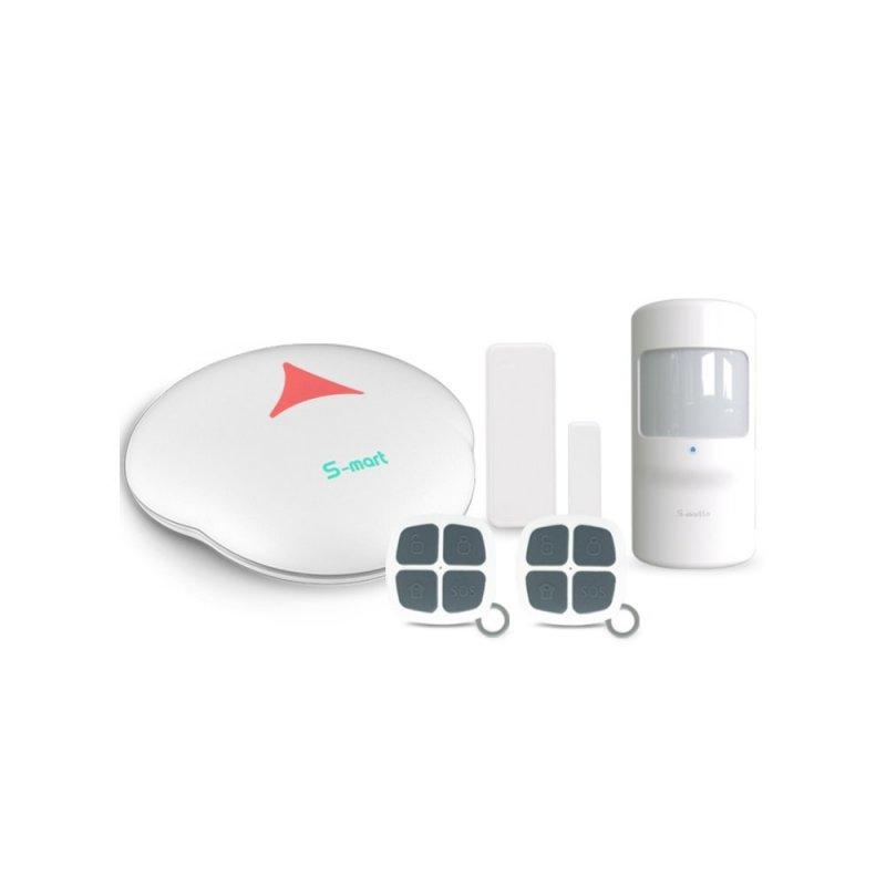 Domácí WiFi alarm Secutek s dlouhou výdrží GS-S3W
