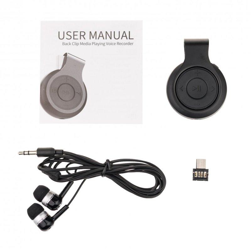 Digitálny diktafón UR-29 s MP3 prehrávačom a hlasovou detekciou