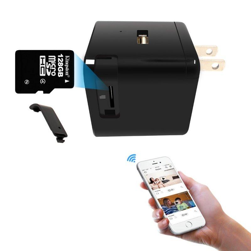 Skrytá IP HD kamera v USB adaptéru Secutek SAH-IP030