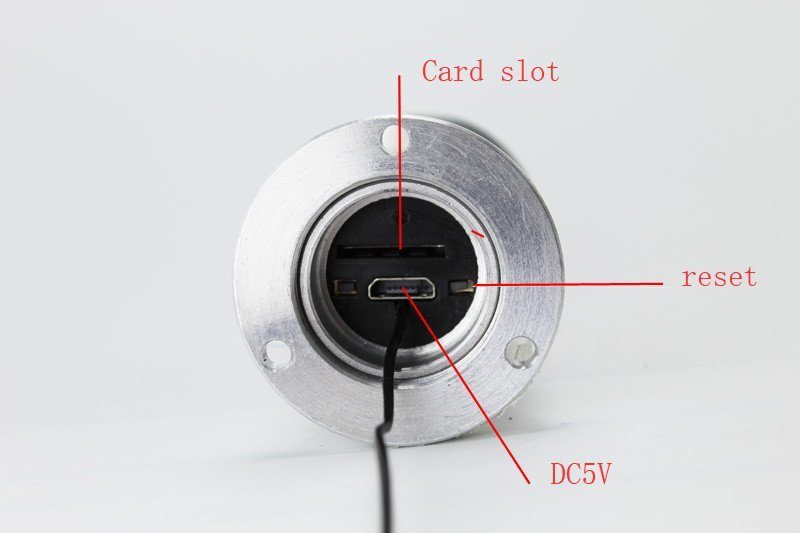 Drahtloses digitale Guckloch Secutek SKI-ID158