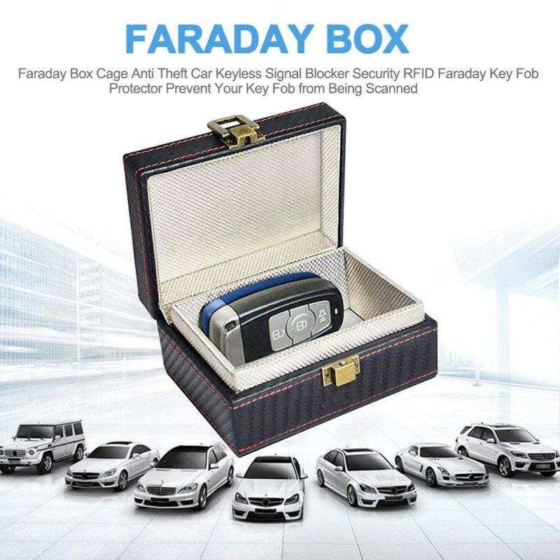 Faraday Box für die Fernbedienung von Autos Secutek SAI-OT75