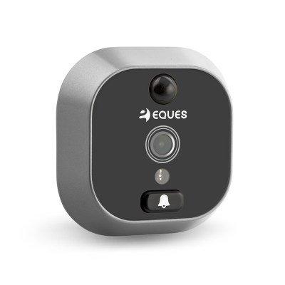 Digitálne dverné kukátko Eques VEIU Greeter Plus