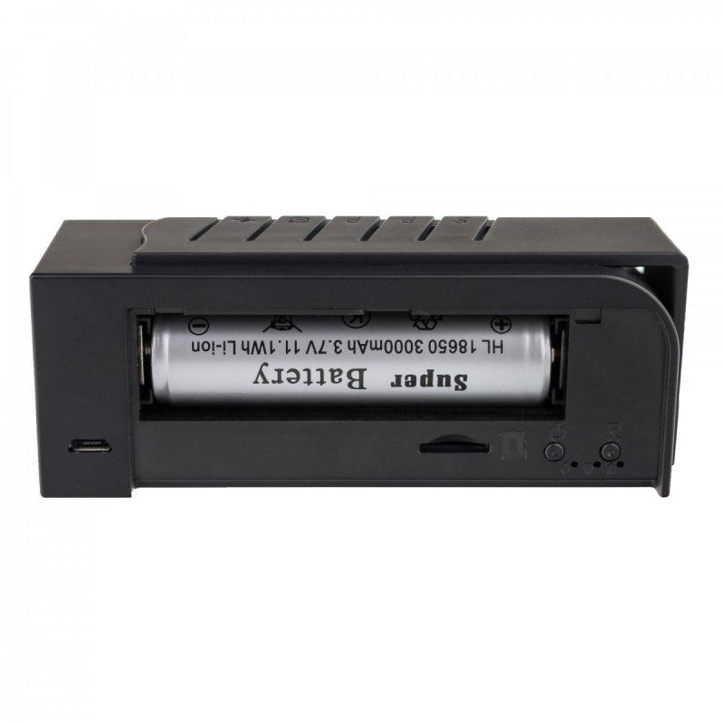 Digitális ébresztő rejtett WiFi kamerával Secutek SAH-IP035
