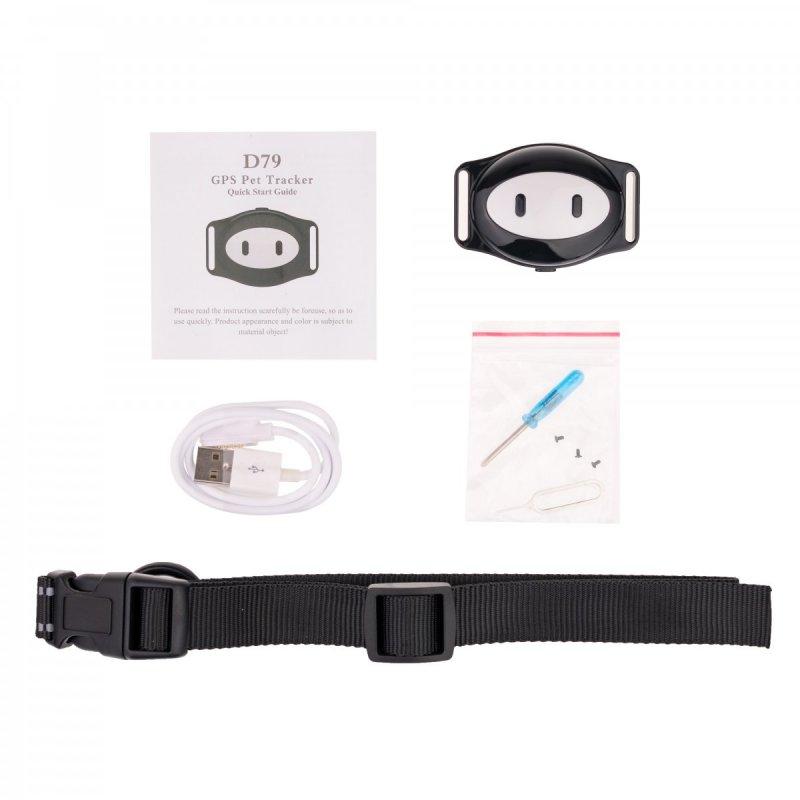GPS lokátor na obojek pro domácí mazlíčky Secutek SWX-D79
