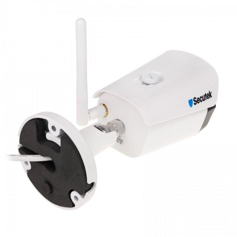 5MP WLAN Kamera Set Secutek SLG-WIFI3604DE4FK500 - 4x 5MP Kamera, NVR