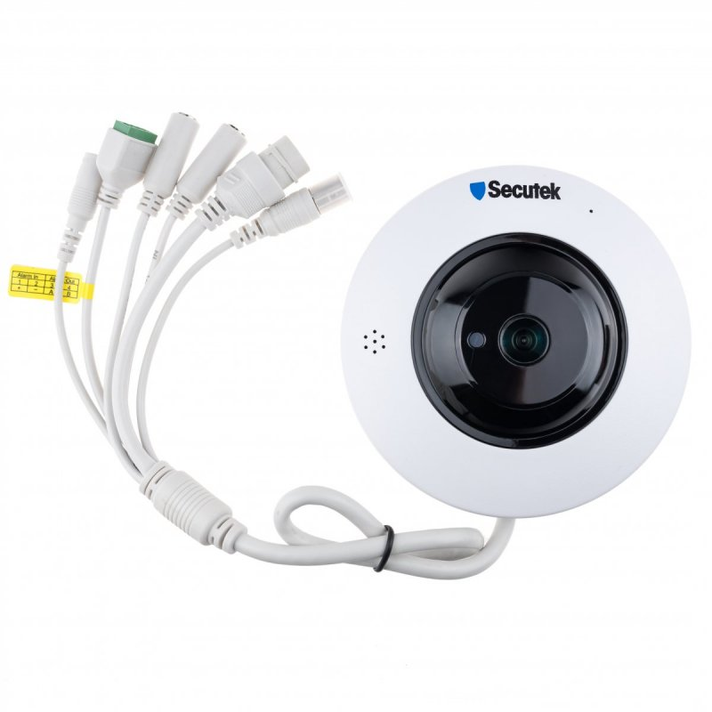 Panoramische IP fish-eye Kamera Secutek SLG-LMDES1200
