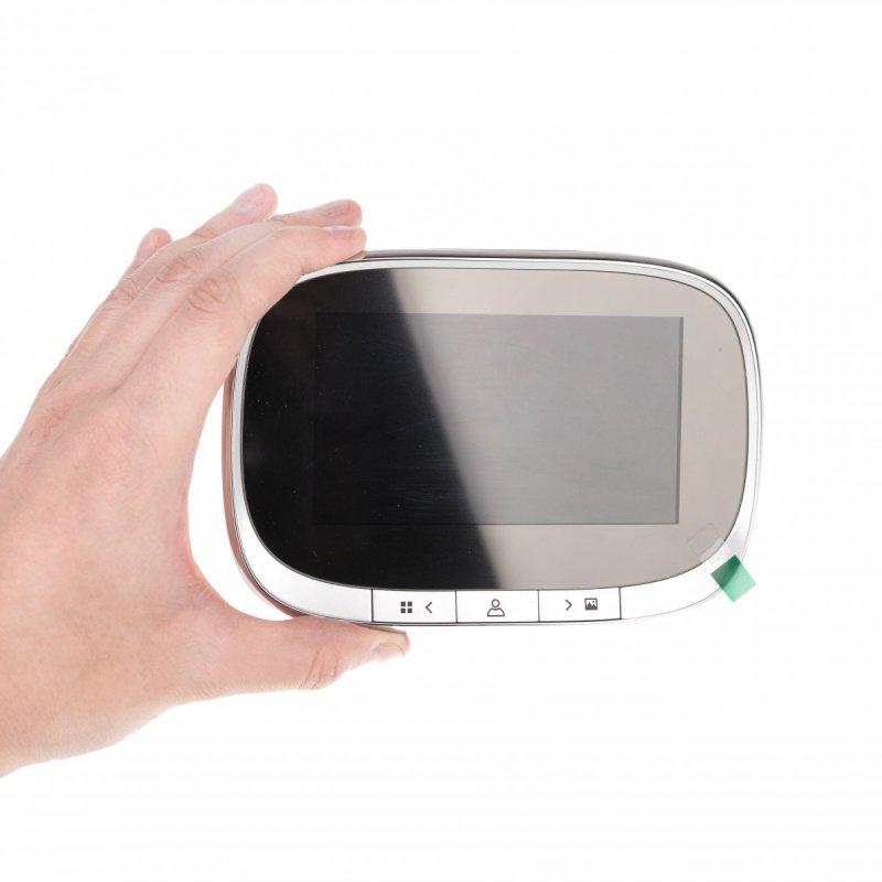 """Digitálne dverné kukátko SF-550 - 4,3 """", IR"""
