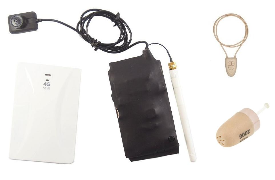 Secutron 4G knoflíková kamera + mikrosluchátko