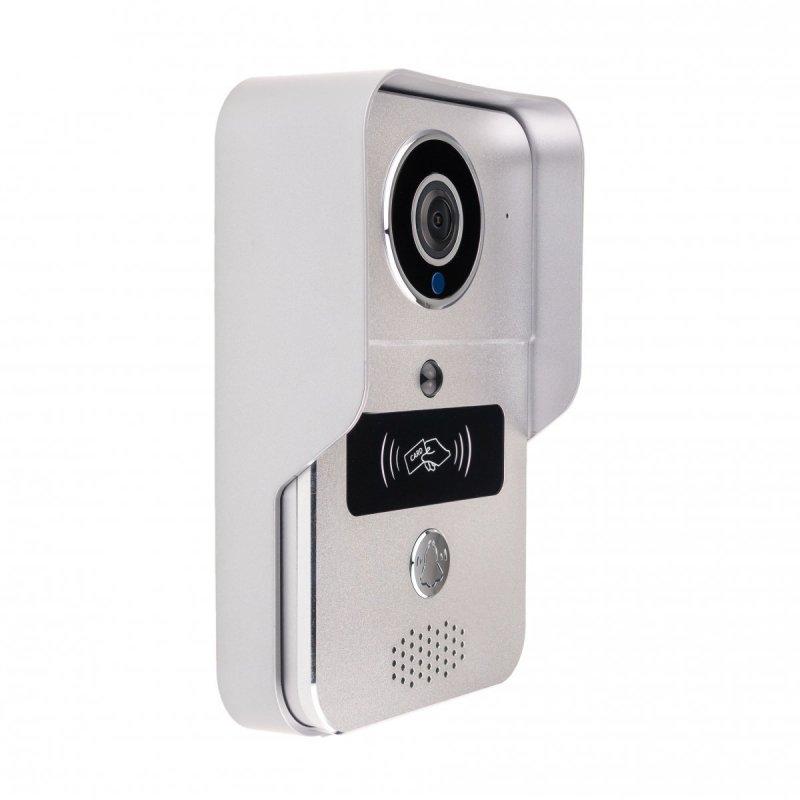 Kovový videozvonček DBV02P s RFID čítačkou