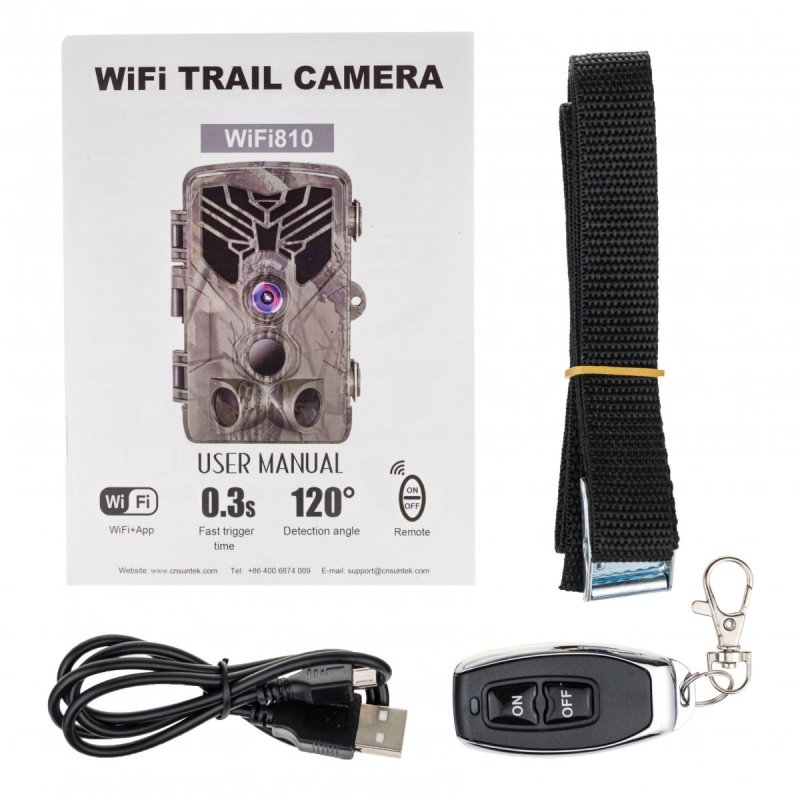 WiFi Fotopast Secutek SST-WiFi810 - 20MP, IP65