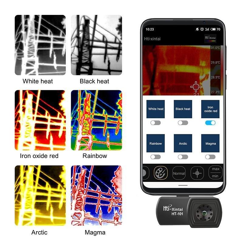Externí termokamera HT-101 pro smartphony