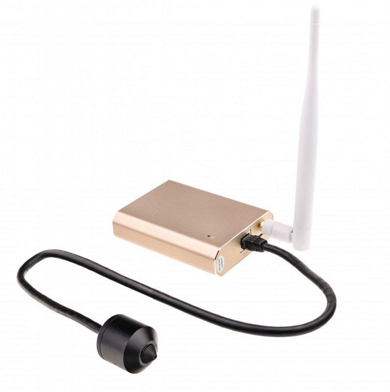 Full HD IP server s kamerou Secutek SAB-NC132SPW - WiFi, PoE, P2P