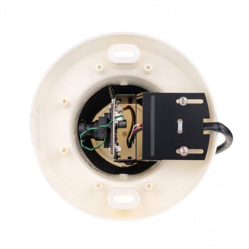 Skrytá 2MP AHD kamera v detektore dymu Secutek SLG-LSDCCHT200FEH