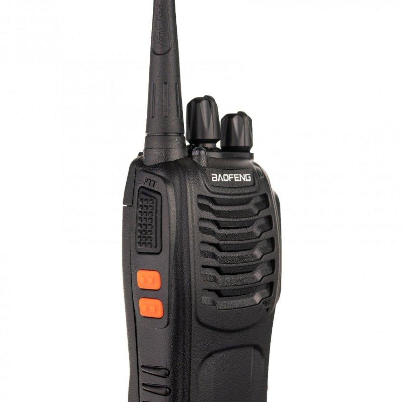 Sada 2ks UHF vysielačiek Baofeng BF-888S