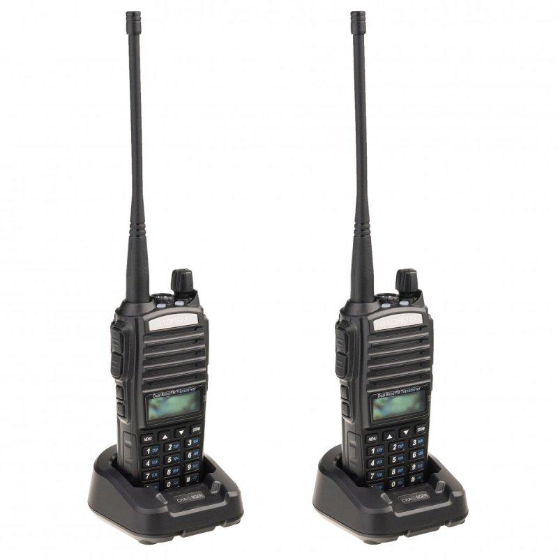 Sada 2ks UHF vysielačiek Baofeng UV-82